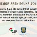 MEMORIAREN    EGUNA    2015    ANDOAIN